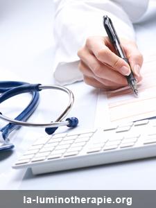 Sommaire: Espace médecin sur la luminothérapie